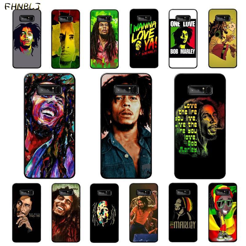 Funda de teléfono FHNBLJ Bob Marley DIY pintada ostentosa para Samsung note 3 4 5 7 8 9 10 10pro plus M10 M20