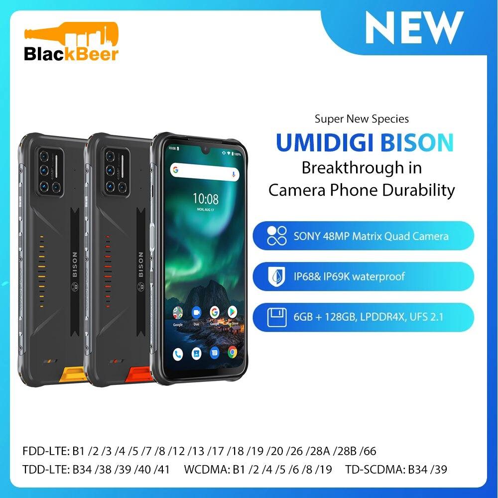 UMIDIGI BISON IP68/IP69K Waterproof Mobile Phone 6.3