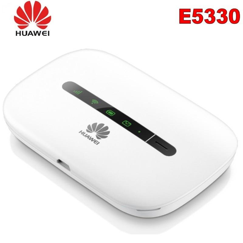 Unlocked Huawei E5330 21Mbps Wireless Mobile WiFi Outdoor Hotspot Modem Pocket Car Wifi Modem Support 3G 2100/900Mhz