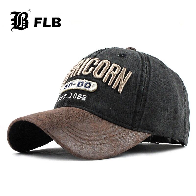 [FLB] nuevas gorras de béisbol para hombres Denim Streetwear mujeres papá sombrero Snapback bordado MenS Cap Casual Casquette Hip Hop Cap F363