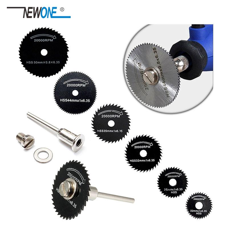 """Greito plieno pjūklo diskai + 1 prailginimo strypo įtvaras metaliniam """"Dremel"""" rotacinių įrankių pjovimo diskų rato medienos pjūklui"""