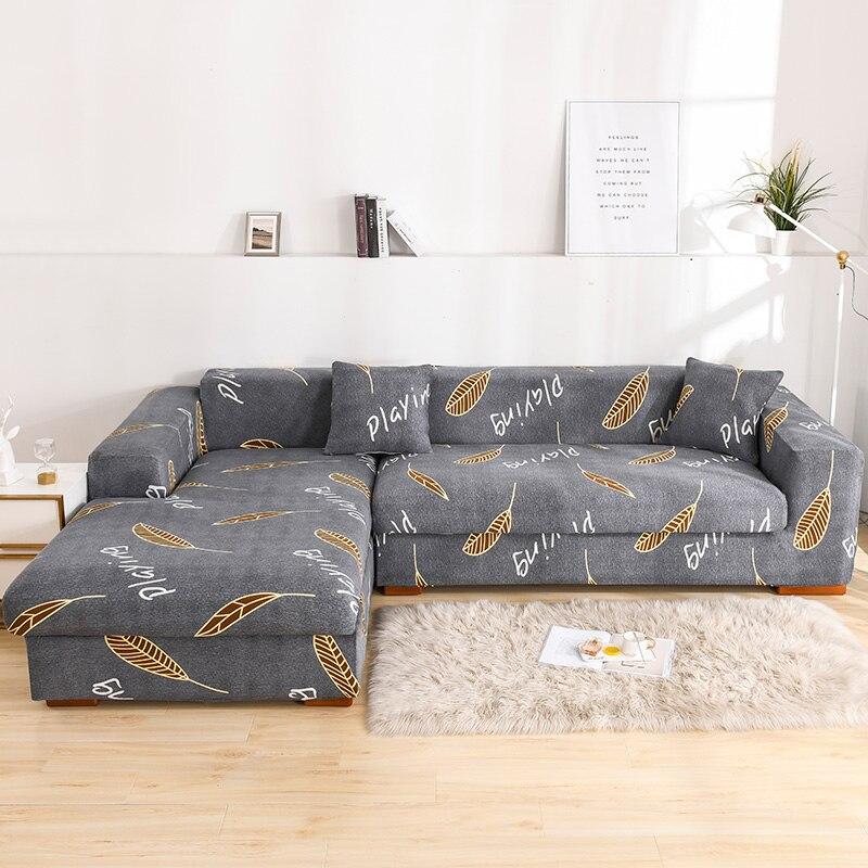 Fundas estampadas para muebles, sofás con diseño de la península, Chaise Longue,...