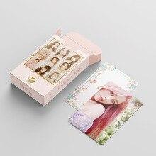 54pcs/set KPOP TWICE Lomo card HD Print high quality Photocard Photo album Poster Card elegant packaging K-pop TWICE fans gift