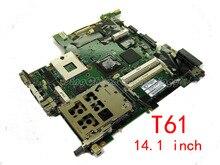 HOLYTIME carte mère dordinateur portable pour Lenovo IMB thinkpad T61 FRU 42W7869 14.1