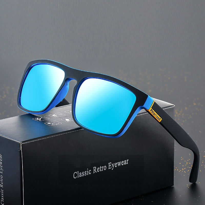 2021 Polarized Sunglasses Men's Driving Shades Male Sun Glasses For Men Retro Cheap Luxury Women Bra