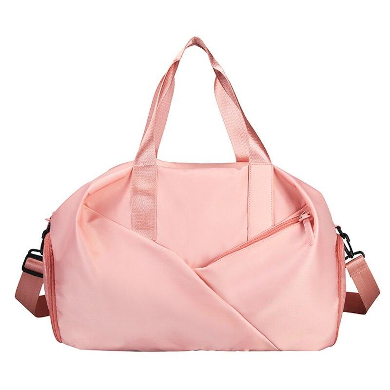 Sport Gym Bag Fitness Dry And Wet Separation Yoga Bag Waterproof Travel Shoes Handbag Women's Shoes Shoulder Bag Sports Suitcase
