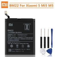 Xiao Mi Original Replacement Battery For XiaoMi 5 Mi5 M5 Prime BM22 Authentic Phone Battery 3000mAh