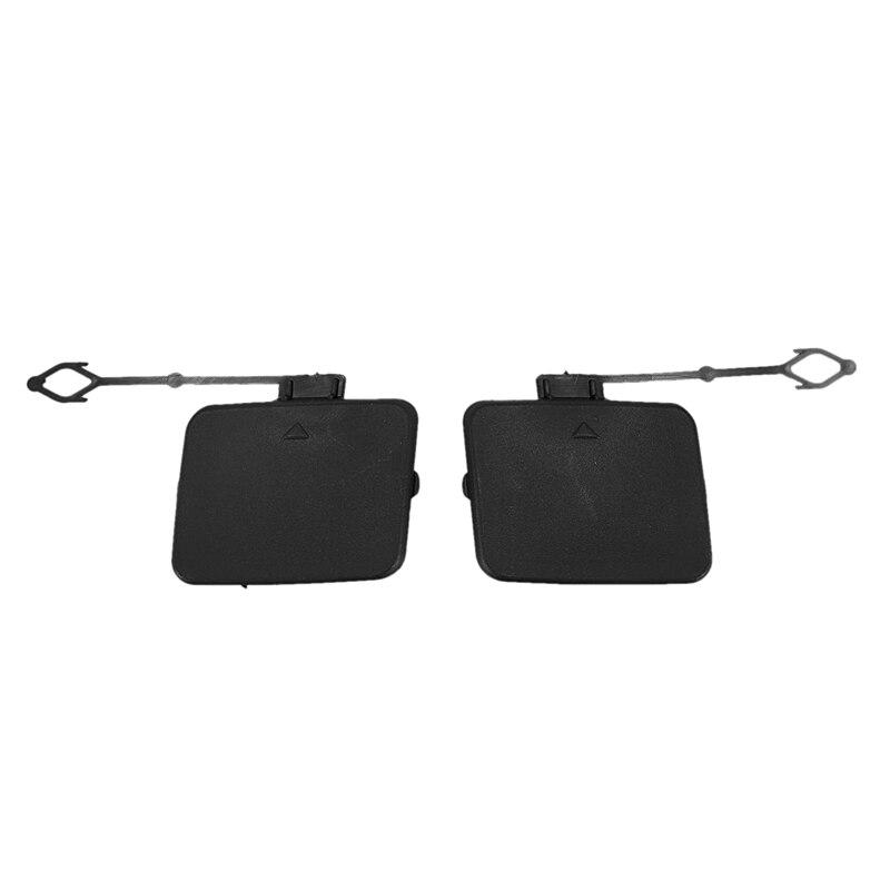 2 Pcs Left Right Rear Bumper Tow Hook Cover Cap 51127158448 51127158 447 for Bmw X5 E70 2006 2007 2008 2009 2010 2011