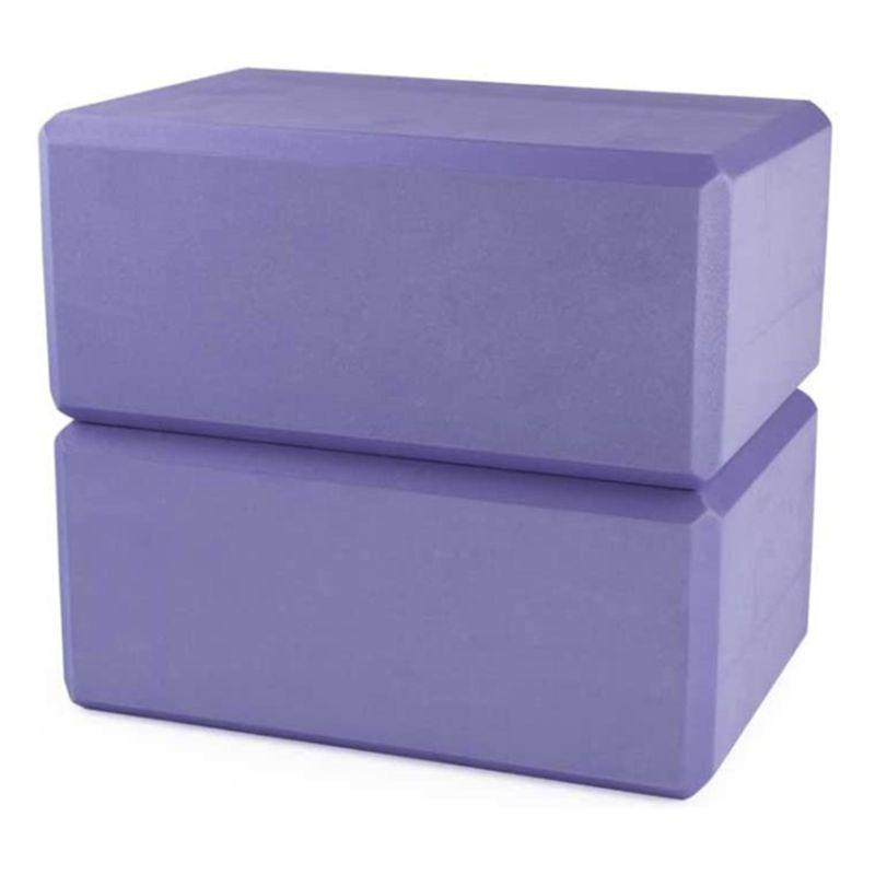 2pcs Yoga Block High Density EVA Foam Block for Yoga Pilates Meditation Fitness XXUF недорого