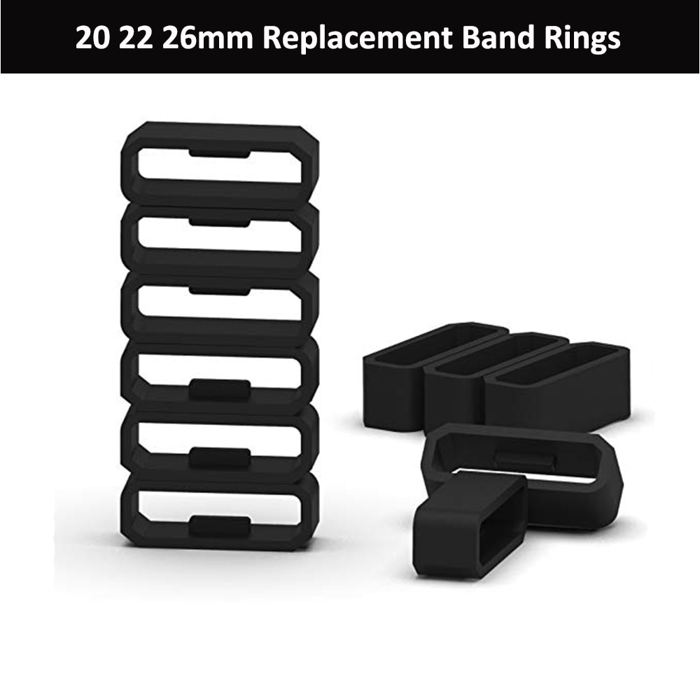 replacement fastener ring for Garmin Fenix 5S 5 plus 6S 6 Pro watch band keeper watch accessories lo