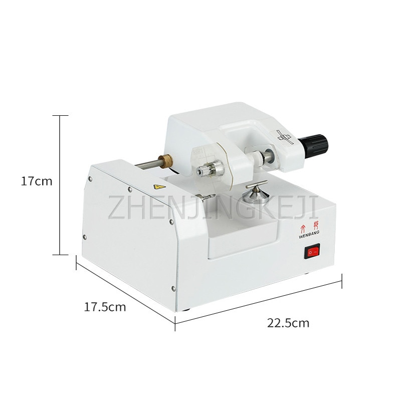 Lens mold opening machine, stainless steel accessories, glasses cutting equipment enlarge