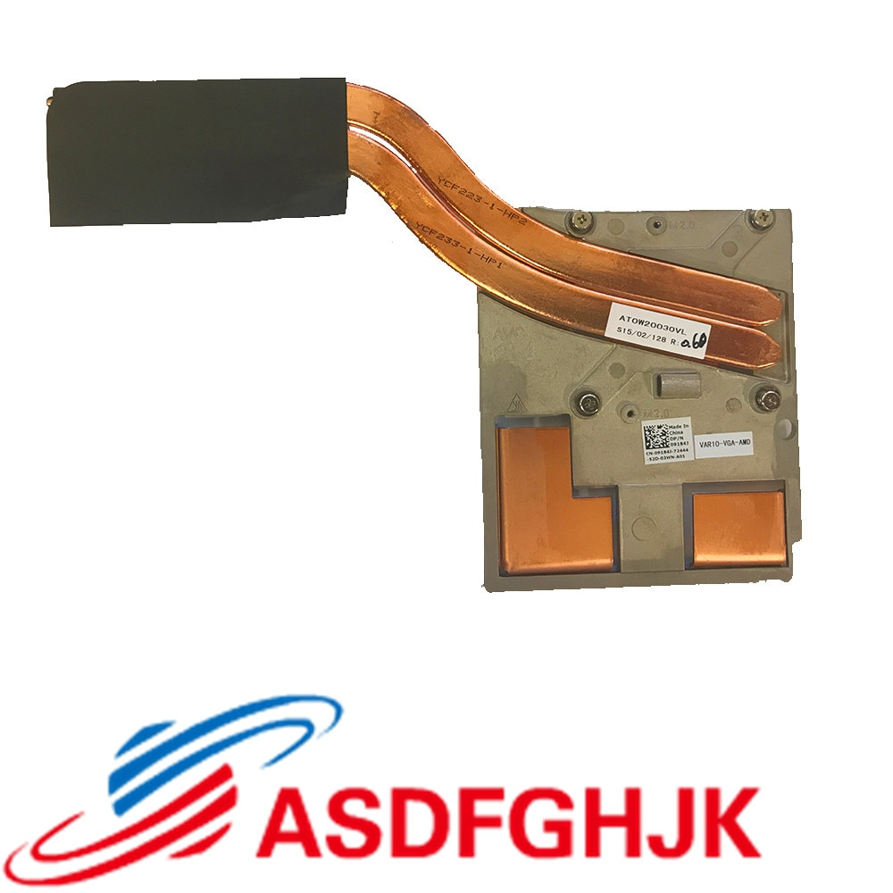الأصلي لديل M6800 مروحة تبريد المبرد 09184J 9184J cn-09184J AT0W20030AL