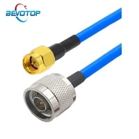 rg402 cable n type male female to sma male rf adapter cable 50 ohm rf coaxial pigtail extension cord jumper 15cm 50cm 1m 2m 5m