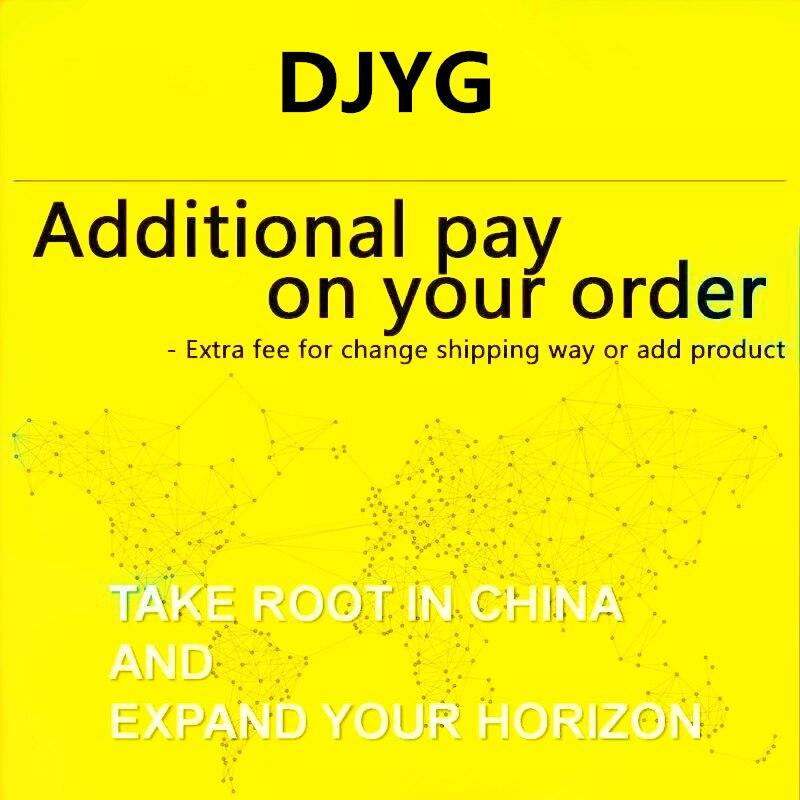 DJYG دفع إضافي على الطلب الخاص بك