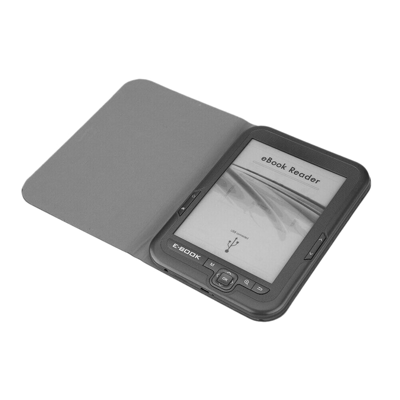 6 Inch 4GB Ebook Reader E-Ink Capacitive E Book Light Eink Sn E-Book E-Ink E-Reader MP3 with Case, W
