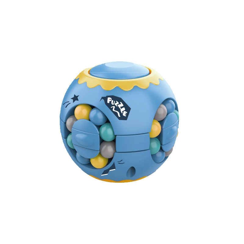 Spinning Magic Beans Anti Stress Cube Toys Anxiety Fidget Anti-stress Box Autism Hand Fidget Toy Simple Dimple for Children Ball enlarge