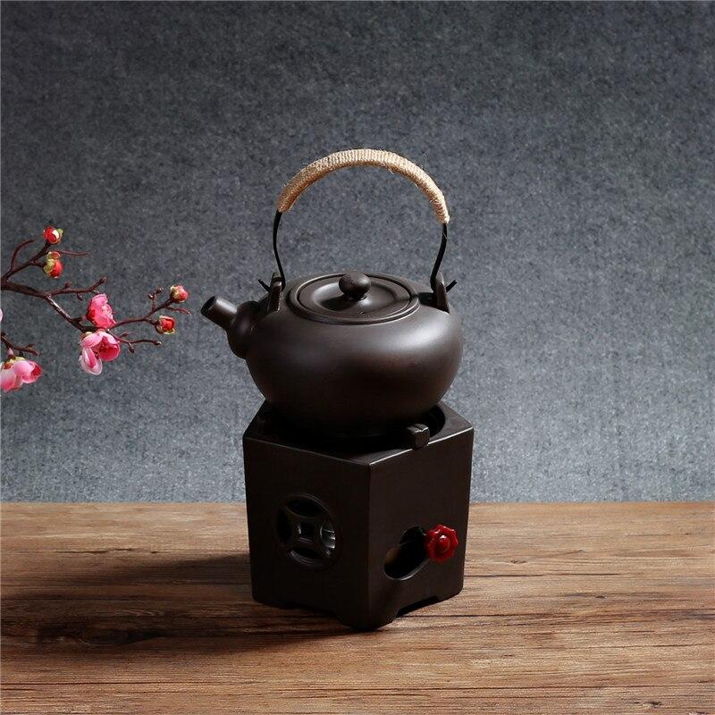 Песок образец спиртовой печи чайник боковая защита от нагрева оригинальная Высокая емкость Регулируемая чайная печь