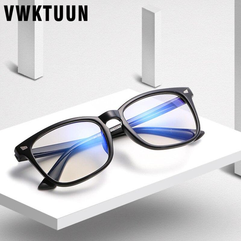 VWKTUUN lunettes Vintage femmes hommes   Montures, lunettes Anti-rayons bleus, lunettes dordinateur pour étudiants, lunettes simples, Anti-radiation Sport