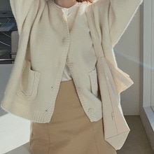 Early Autumn New Knitted Cardigan Design Sense of Lazy Style Sweater Set Two-piece Set Style Small M