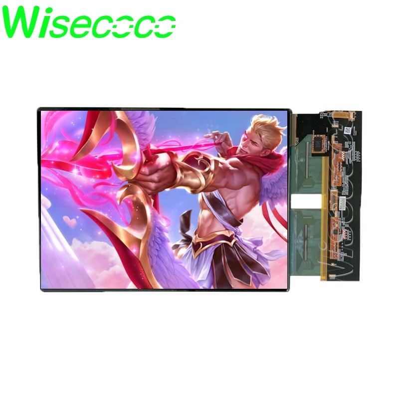 Wisecoco 11 بوصة AMOLED شاشة OLED 1728x2368 عالية الدقة التباين مع لوحة اللمس على الخلية Hdmi لوحة للقيادة