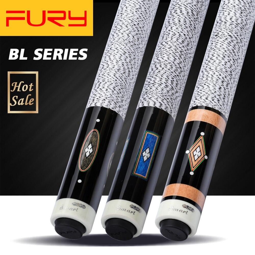 Fury Billiards Pool Cue BL Handmade 13mm Tip 147cm Length Professional Billard Stick Cue High Quality Maple Billar Shaft