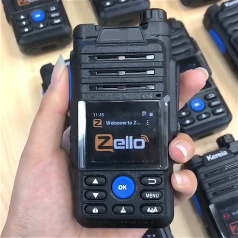 retevis rt51 poc handset radio unlimited distance 4g lte network walkie talkie unlicensed two way radio private group call gps Camoro Zello 4G Network Walkie Talkie Separate Antenna Gps Bluetooth POC Radio Transmitter Android walkie-talkie 50km 100 KM