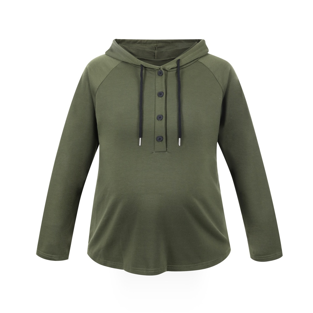 Maternity Hoodies Breastfeeding Clothes Pregnancy Hoodie Nursing Top Mom Nursing Tops Breastfeeding Clothing Pregnant Women
