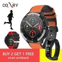 coxry 2021 mt16 1 4 inch smartwatch men full touch multi sport mode with smart watch women heart rate monitor for ios android