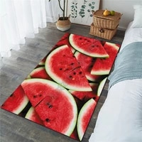 watermelon area rug 3d all over printed non slip mat dining room living room soft bedroom carpet 02