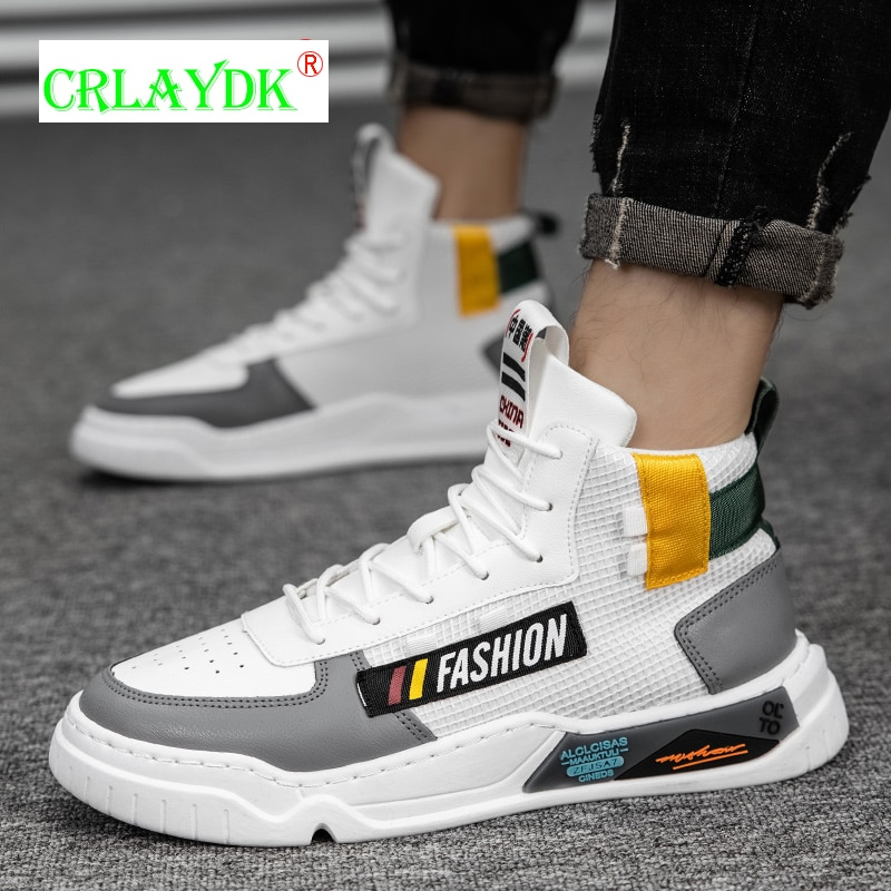 CRLAYDK احذية الجري الجديدة موضة أحذية رياضية للرجال رياضة المشي عالية الجودة الاحذية في الهواء الطلق الطريق السريع تنس Schuhe Herren