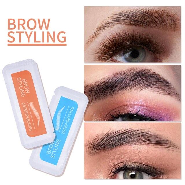 2020 Brow Lamination Kit Safe Brow Lift Eyebrow Lifting Protable Travel Kit Eyebrow Professional Beauty Salon Brow Lamination