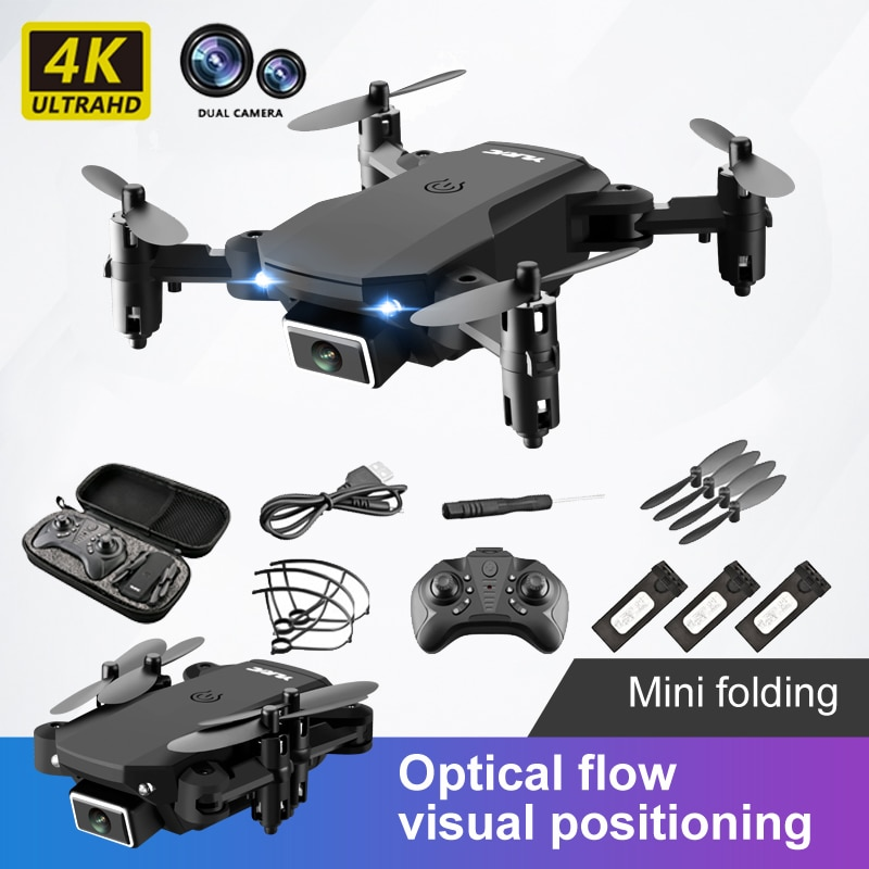S66 Mini RC Drone 4K 1080P HD Dual Camera FPV Wifi One-Key Return Hight Hold Mode Quadcopter Air Pressure  Helicopter  Kid's Toy