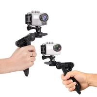 Mini Table Tripod Desktop Camera Stability Bracket Stand Holder for GoPro Selfie Stick Bracket With Clip For Phone Camera