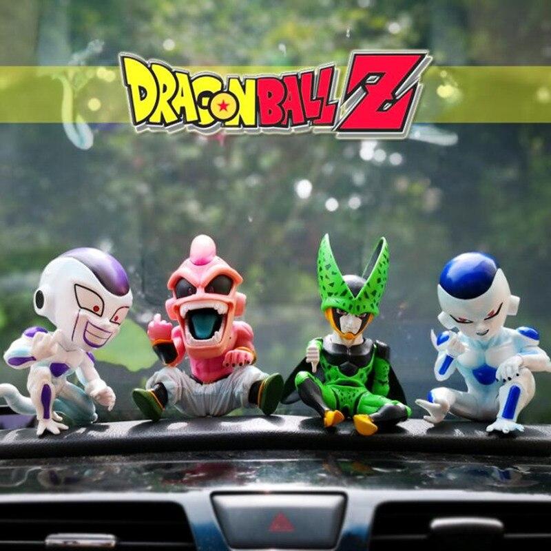 Car Decoration Dragon Ball Cosplay Dolls Car Ornaments Auto Interior Decorations Doll Toys Car Accessories Ornaments