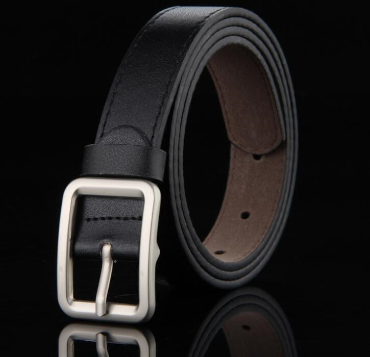 Child formal dress boys teenage belt designer kids PU leather fashion elastic belt buckle black Leisure strap accessorie GG