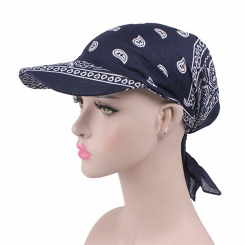 Sombrero de visera para mujer, bufanda estampada a la moda, gorro cálido, gorro de toalla cuadrado, bufanda Unisex, sombrero de sombra para el sol
