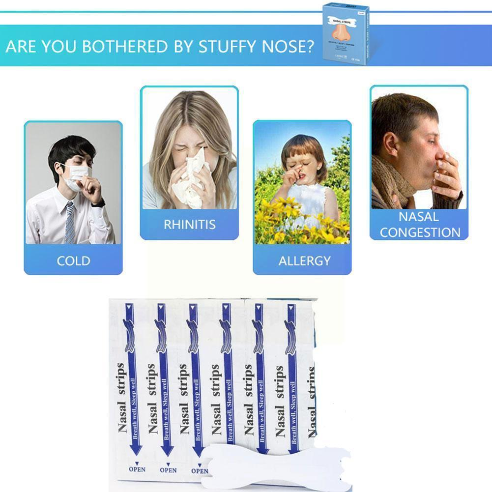 Ventilation Nose Patch Stop Snoring Patch Transparent Strips Heath Snoring-prevention Anti-snoring N