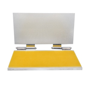 Full Aluminum Beewaxs Foundation Sheet Mold Beeswax Embossing Mold Machine Printer  Cell Size 5.3mm Or 4.9mm Optional Beekeeping