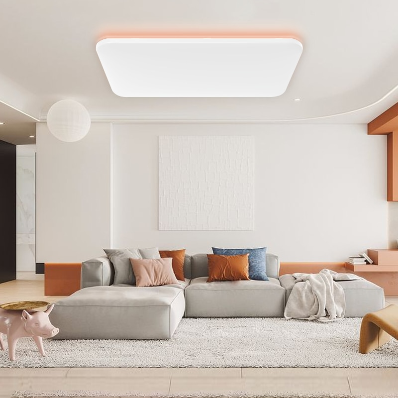 Yeelight Colorful Side Light Edition Smart Ceiling Light Dimmable Bluetooth Remote APP Voice Control Work Mi Home Siri Homekit