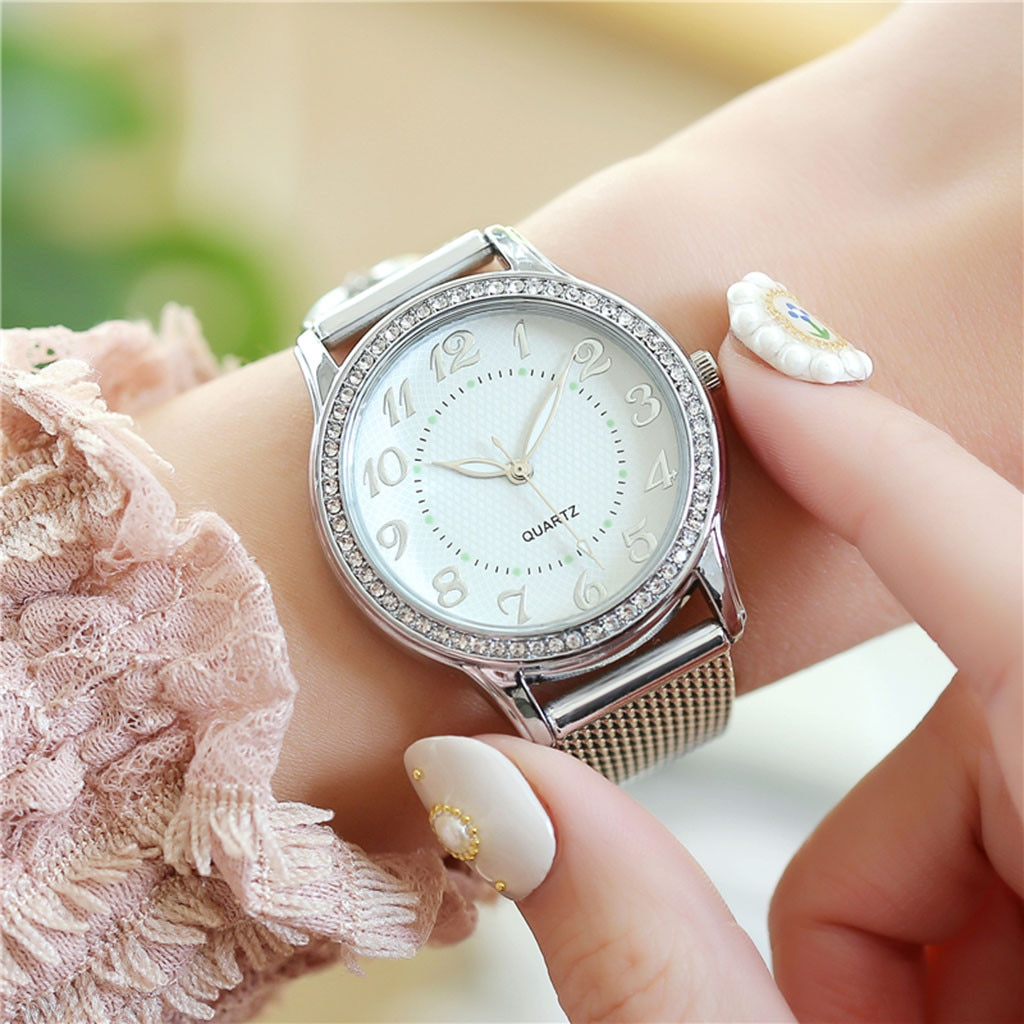 Luxury Watches Quartz Watch Stainless Steel Dial Casual Bracele Watch Dropshipping 2021best Selling