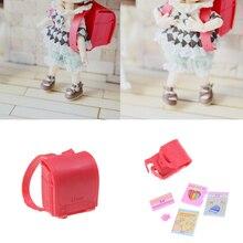 1/6 кукла школьная сумка для кукла Licca подходит для Блит пуллип OB Azone Momoko кукла аксессуары для кукольного набора аксессуары Новинка