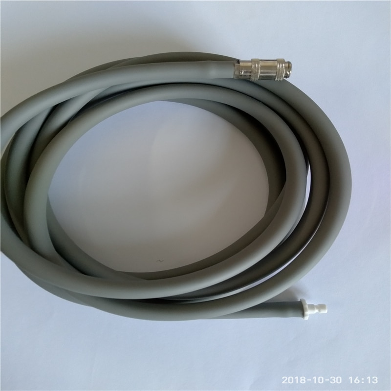 NIBP blood pressure cuff air hose and connector for Physio Control Lifepack20/Spacelab,PVC 3M extension tube to adult NIBP cuff.