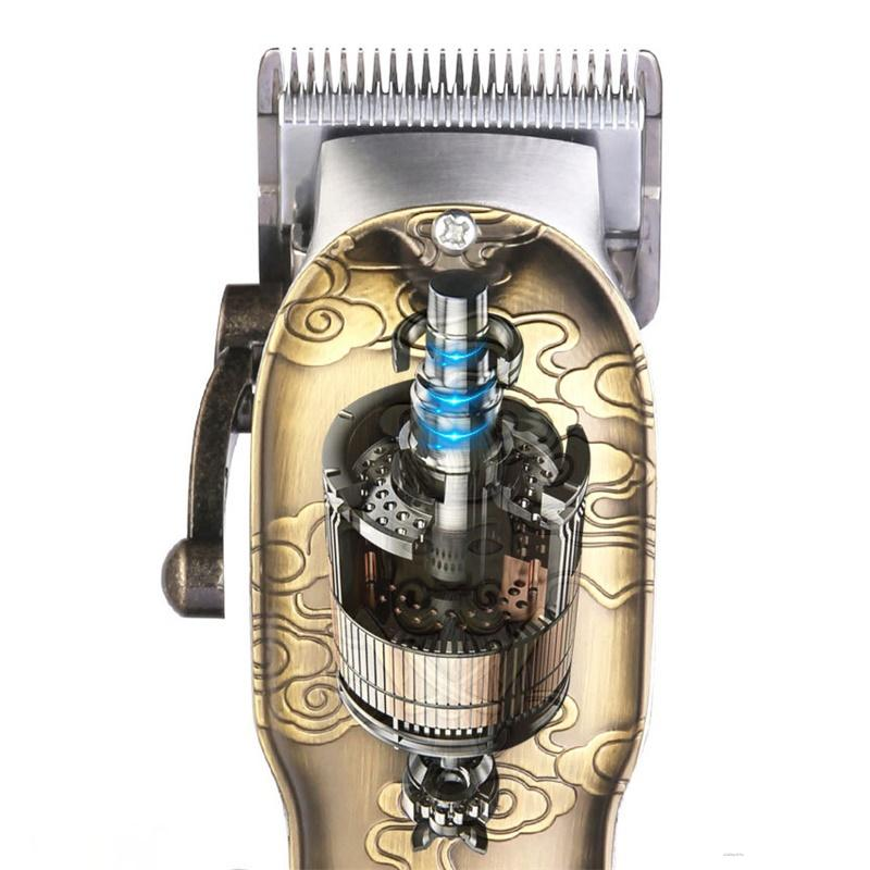 JAME 96A9 Electric Hair Clipper Pomade Shaver Trimmer Professional Men Hair Clipper Digital Display Fashion Retro Hair Cutter enlarge
