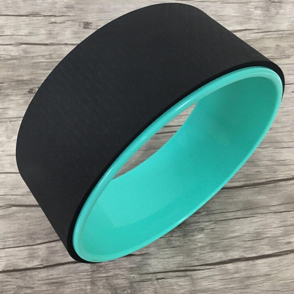 Колесо для йоги, тренировочный инструмент, колесо для йоги, 12.5x5In, кольцо для йоги, прочный ролик для спины, Балансирующий аксессуар