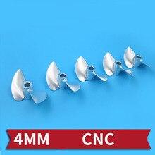 1PC D30 32mm 33mm 34mm 35mm hélice en alliage daluminium hélices CNC CW accessoires 4.0mm hélice Semi-immersion pagaie pour bateaux RC