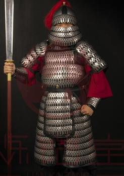 Ancient Chinese armor DIY material Heavy Infantry Stainless steel  24KG