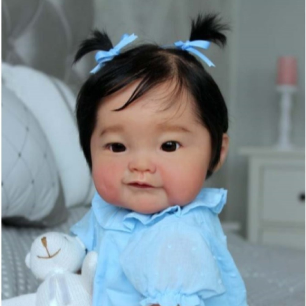 RBG 20 Inches Naomi Reborn Baby Lifelike Doll Unpainted Unfinished Part DIY Blank Kit Cute Gift LOL