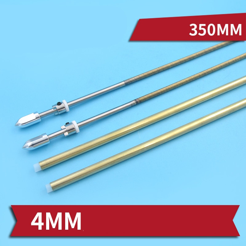 1PC 4mm Flexible Shaft Assembly Integrated 350mm Drive Shafts Positive Reserve Transmission Axle for RC Brushless Electric Boats enlarge