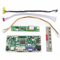 Latumab New LCD LED LVDS Controller Board Driver kit for LTN133W1-L01 HDMI + DVI + VGA Free shipping