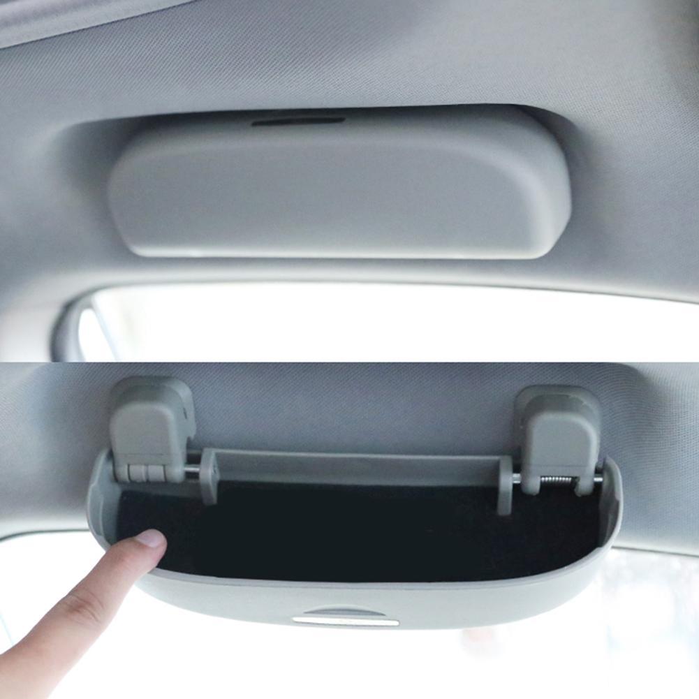 Abrazadera para tarjeta o tique para gafas de coche, parasol para coche, gafas de sol, accesorios para Toyota 14-18, nuevo RA